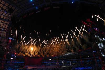 国庆焰火-特效焰火和高空焰火