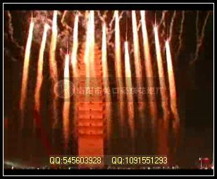 舞台烟花-银尾烛光